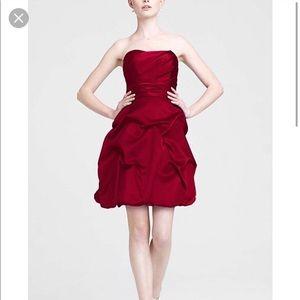 Davis Bridal Red Mini Dress